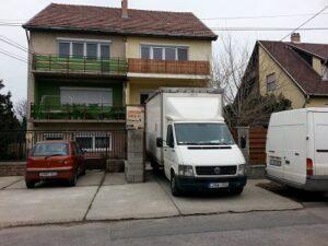 Egyszerű költöztetés Budapest városában